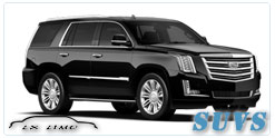 SUV for hire in Houston