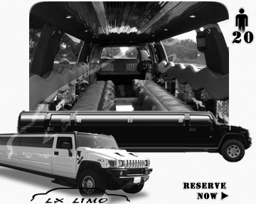 Houston hummer H2 SUV Limousine rental