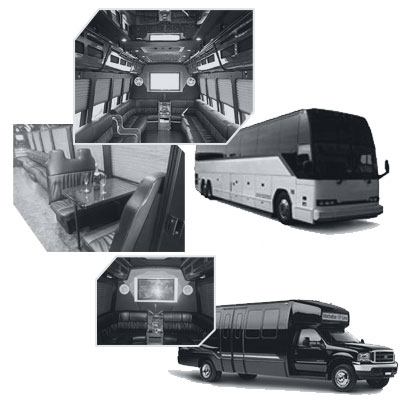 Party Bus rental and Limobus rental in Houston, TX