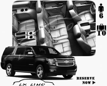 SUV Suburban for hire in Houston