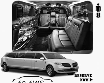 Stretch Wedding Limo for hire in Houston, ON, Canada